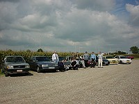 Volvo spy meeting Born / NL Sept.2000